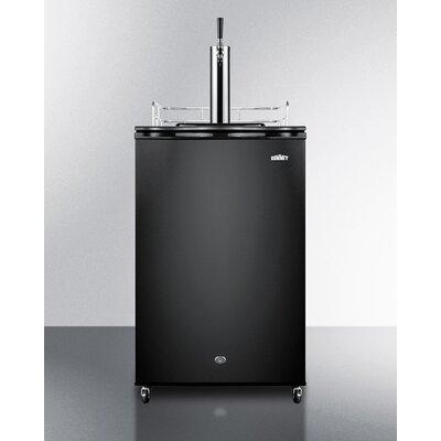 Single Tap Freestanding Kegerator SWKD571