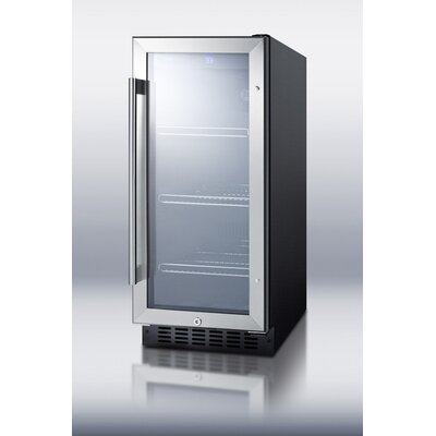 "Summit Appliance 15"" Wide Glass Door Beverage Cooler at Sears.com"