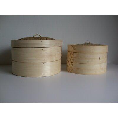 3 Piece 12 Bamboo Steamer