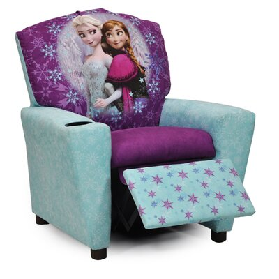 "Disney's ""Frozen"" Kids Recliner Chair with Cup Holder 1300-1-DFROZEN"