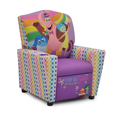 Disney's Inside Out Kids Recliner with Cup Holder 1300-1-DIO