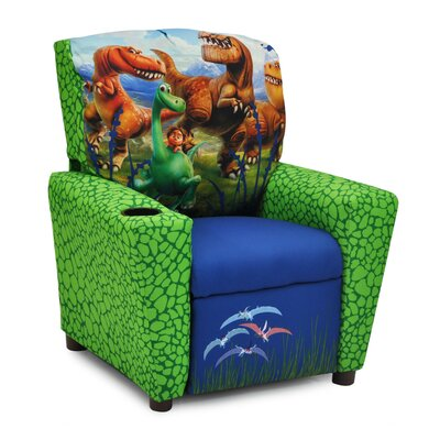 Disney's the Good Dinosaur Kids Recliner with Cup Holder 1300-1DGD