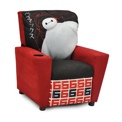 Disney's Big Hero 6 Kids Recliner with Cup Holder 1300-1DBH