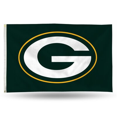 NFL Polyester 3 x 5 ft. Flag NFL Team: Green Bay Packers 194235