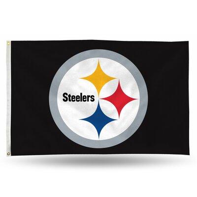 NFL Banner Flag NFL Team: Pittsburgh Steelers 194243