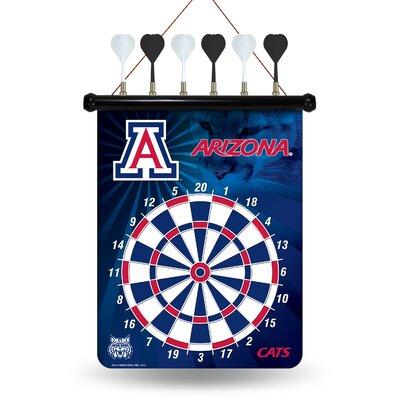 NCAA Magnetic Dartbaord Set Team: University of Arizona Wildcats 183334