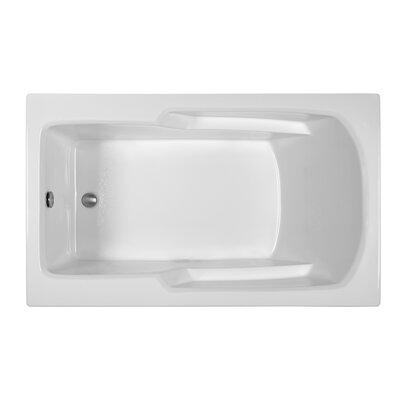 Rectangle 59.75 x 35.75 Soaking Bathtub Finish: Biscuit
