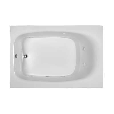 Reliance 71 x 47 Soaking Bathtub Finish: Biscuit