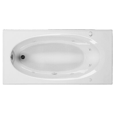 Reliance 72 x 36 Whirlpool Bathtub Finish: White