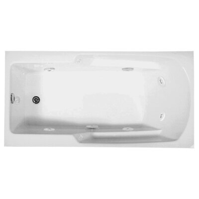 Reliance 66 x 34 Whirlpool Bathtub Finish: White