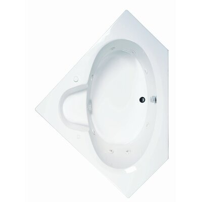 Reliance 59 x 59 Whirlpool Bathtub Finish: White
