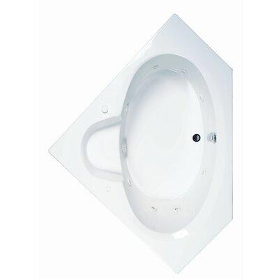 Reliance 59 x 59 Whirlpool Bathtub Finish: White