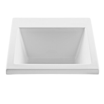 25 x 22 Single Reliance Versatile Laundry Sink Sink Finish: White