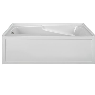 60 x 32 Alcove Soaking Bathtub Drain Location: Right