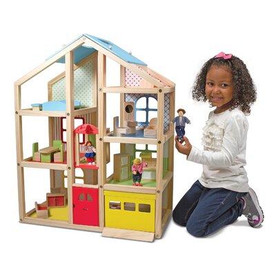 19 Piece Hi-Rise Dollhouse Set 2462