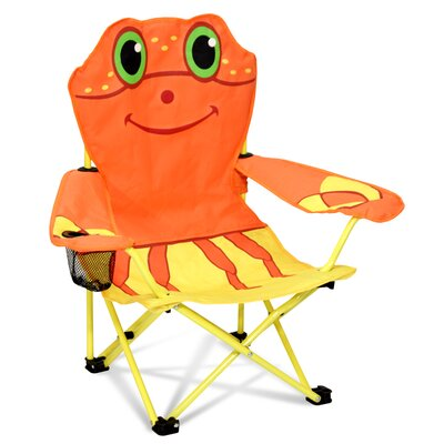Clicker Crab Kids Directors Chair with Cup Holder 6417