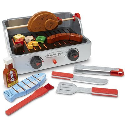 24 Piece Rotisserie and Grill Barbecue Set 9269