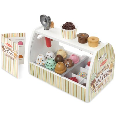 20 Piece Scoop and Serve Ice Cream Counter Set 9286