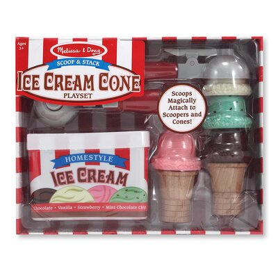 Scoop and Stack Ice Cream Cone Set 4087