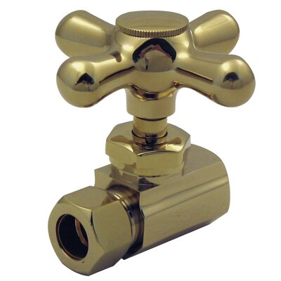 Compression Outlet Finish: Polished Brass
