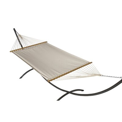 Phat Tommy Sunbrella Hammock with Stand Color: Birds Eye, Base Color: Pewter