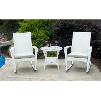 Buyers Choice Phat Tommy Bayview 3 Piece Rocker Seating Group with Cushion at Sears.com