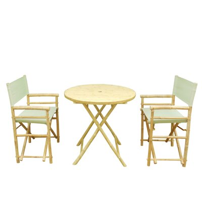 Phat Tommy 3 Piece Bistro Set Color: Kiwi