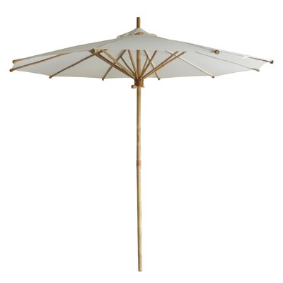 7 Phat Tommy Market Umbrella Color: Ivory