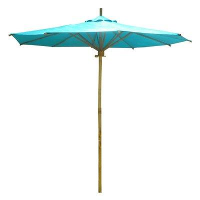 7 Phat Tommy Market Umbrella Color: Teal