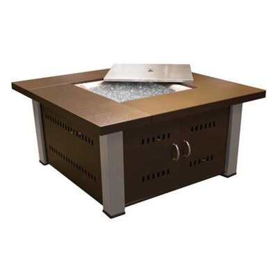 Phat Tommy Propane/Butane Fire Pit Finish: Hammered Bronze with Stainless Steel Legs