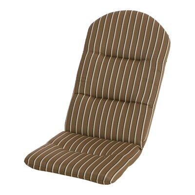 Phat Tommy Outdoor Sunbrella Adirondack Chair Cushion Color: Cocoa