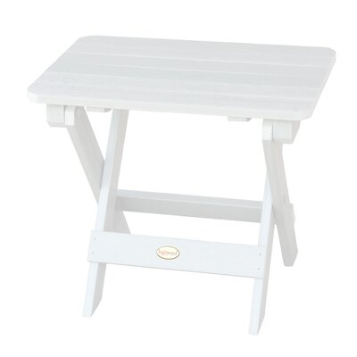 Phat Tommy Side Table Finish: White