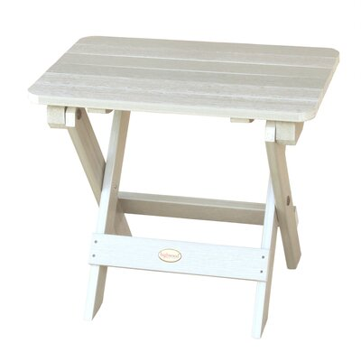 Phat Tommy Side Table Finish: White Wash
