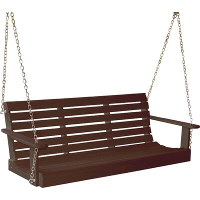 Phat Tommy Weatherly Porch Swing Finish: Acorn
