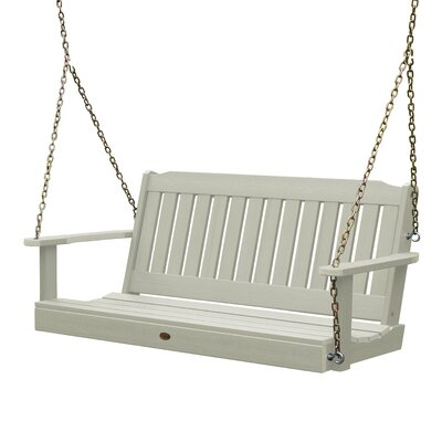 Phat Tommy Lehigh Porch Swing Finish: White Wash