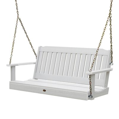 Phat Tommy Lehigh Porch Swing Finish: White