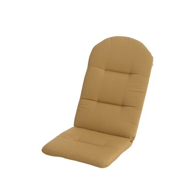 Phat Tommy Outdoor Sunbrella Adirondack Chair Cushion Color: Brass