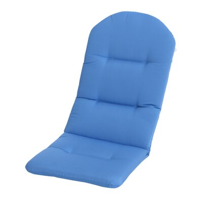 Phat Tommy Outdoor Sunbrella Adirondack Chair Cushion Color: Capri