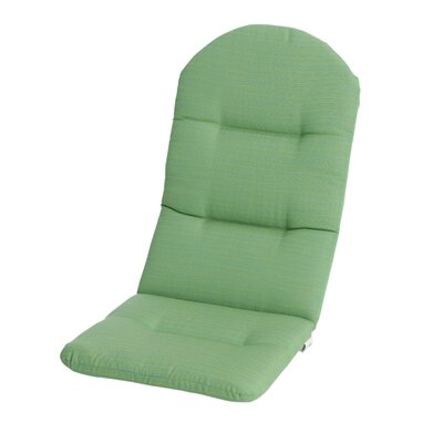 Phat Tommy Outdoor Sunbrella Adirondack Chair Cushion Color: Paradise