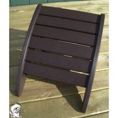 Phat Tommy Ottoman Finish: Espresso Brown