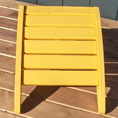 Phat Tommy Ottoman Finish: Yellow