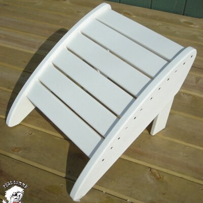 Phat Tommy Ottoman Finish: Alpine White