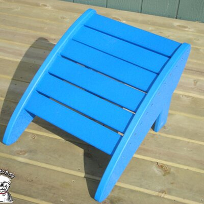 Phat Tommy Ottoman Finish: Marina Blue