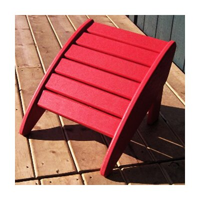 Phat Tommy Ottoman Finish: Fire Engine Red