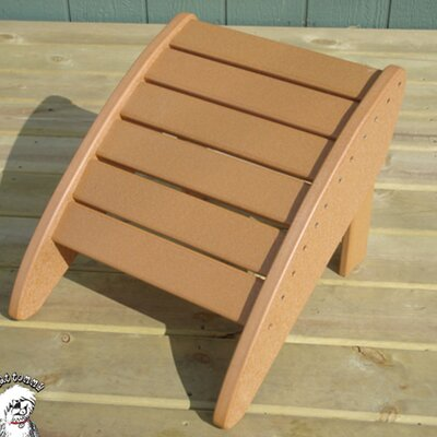 Phat Tommy Ottoman Finish: Cappuccino Tan
