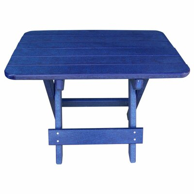 Phat Tommy Side Table Finish: Marina Blue