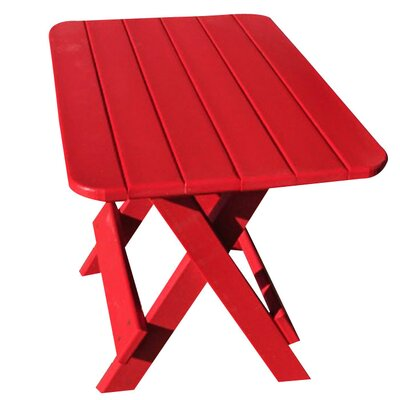Phat Tommy Side Table Finish: Fire Engine Red
