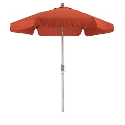 9 Phat Tommy Drape Umbrella Fabric: Brick Red