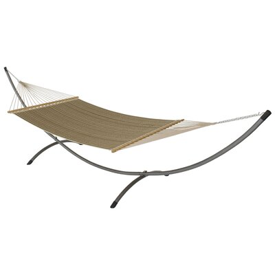 Phat Tommy Sunbrella Hammock with Stand Color: Cocoa