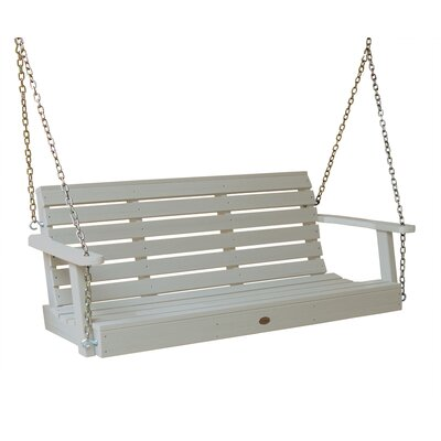 Phat Tommy Weatherly Porch Swing Finish: White Wash